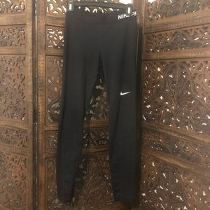 Nike Pro fleece lined leggings